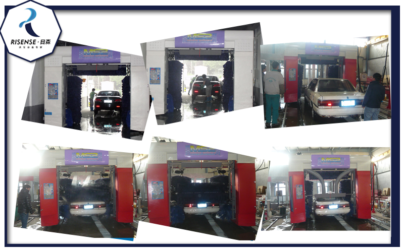 China Top Selling Automatic Wash Car Cleaning Machine System
