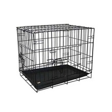 eco friendly dog transport cage pictures expanded double layer metal dog cage