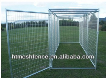 Outdoor kennel/large dog run kennel 2 M wide 1.83M high 4M long