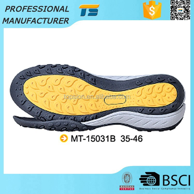 New Arrival Oil Resistant Casual Shoes Women Shoe Ladies Outsole Manufacturer