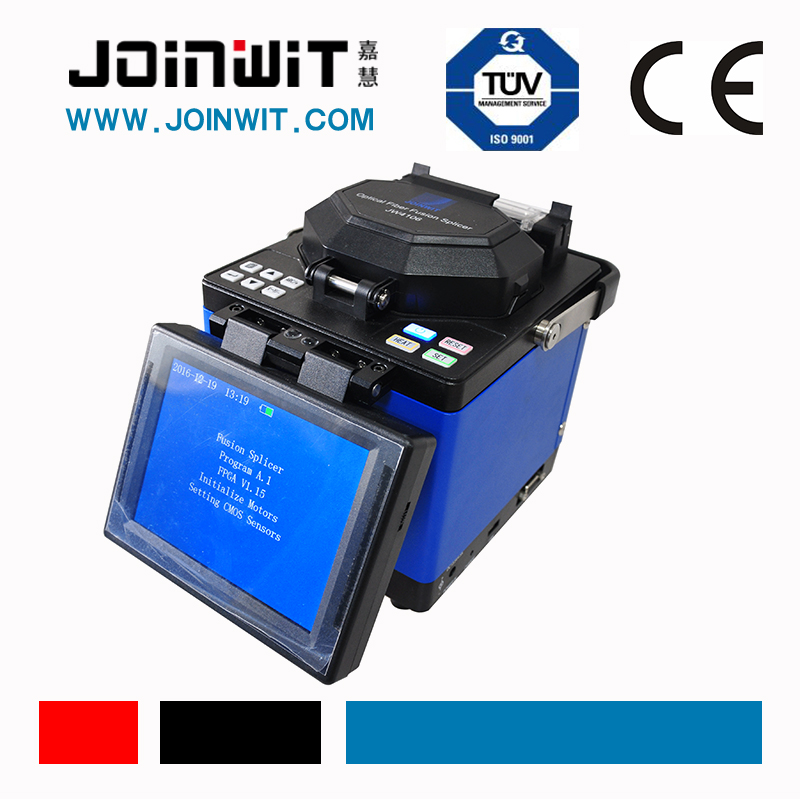 JOINWIT,JW4106 new wind-cover design fiber fusion machine