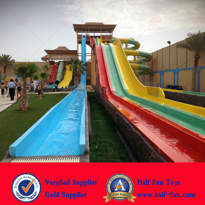 Used Fiberglass Water Park Slides for sale
