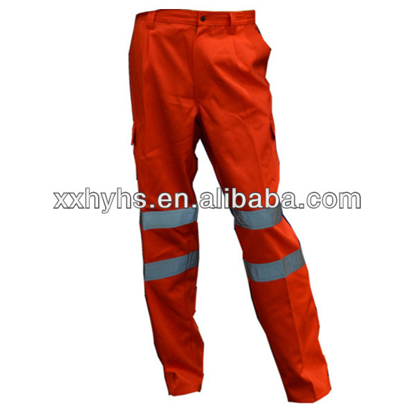 factory price High Visibility Orange Pant