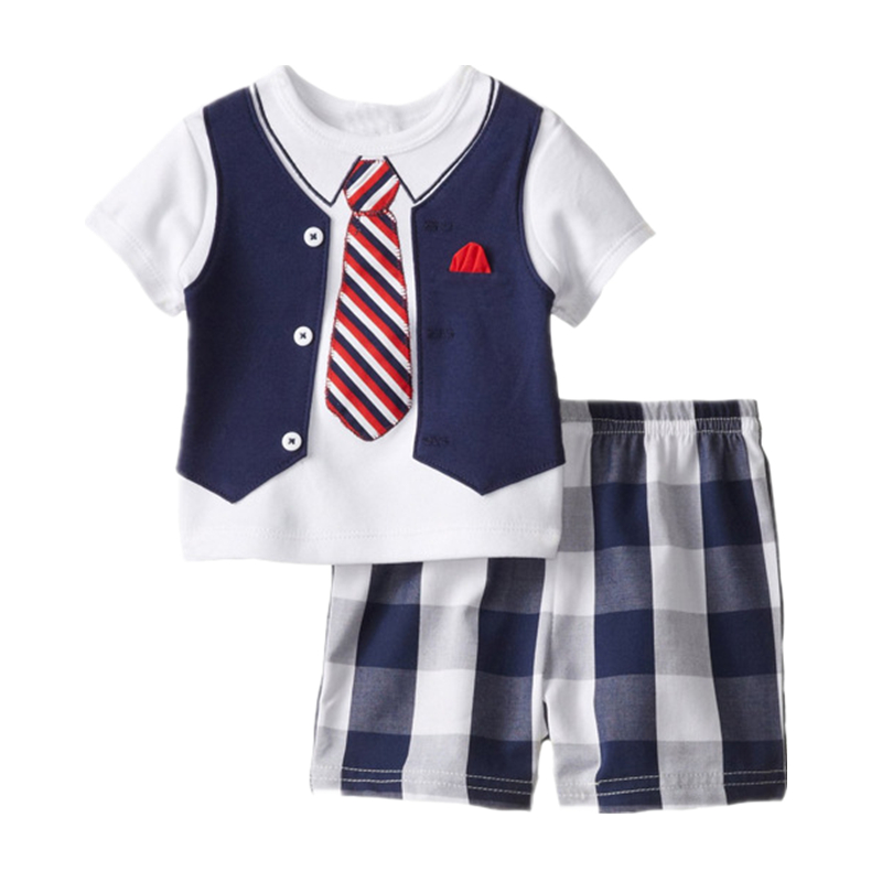 China wholesalers boys summer clothes short sleeve baby sailor suit