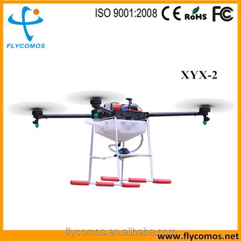 2016 XYX-802 10L Professional heavy load Crop agricultural drone sprayer GPS machinery equipment