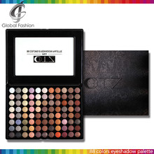 Custom eyeshadow palette private label cosmetics TZ 88 colors cosmetic bag private label eyeshadow palette