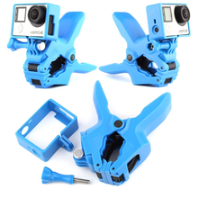 GoPro Jaws Flex Clamp Mount + Standard Frame Housing Case for GoPro Hero 4 3+ 3