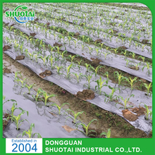 Black/Silver/white agriculture biodegradable plastic mulch film