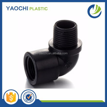 Chinese supplier snap coupling grey pvc pipe fitting male/female elbow