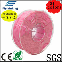 3d color printing filament 1.75mm 3mm pla abs hot selling no harmful smoke or odor while printing
