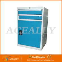 china metal storage box files tool box side roller cabinet for office/factory
