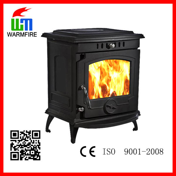 Model WM702B multi-fuel wood freestanding water heating fireplace