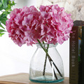 Wholesale artificial hydrangea flowers silk artificial flowers hydrangea silk heads flowers hydrangea wedding decoration