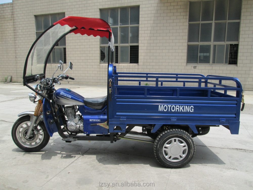 300cc adult motor cargo tricycle with roof (SY300ZH-C2)