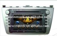 "7"" double din in dash HD car dvd gps for mazda 6"