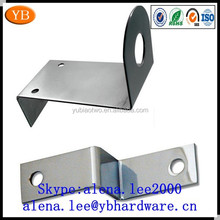 Factory stainless steel metal z bracket,metal right steel angle bracket ISO9001 passed