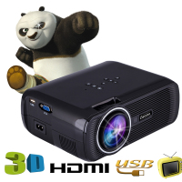 EC77 update version Hdmi Home Theater Beamer Multimedia Proyector Full Hd 1080p Video Everycom X7 Mini TV Projector