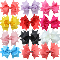 Manufacturers bulk wholesale 5 inch boutique hair bows for online store