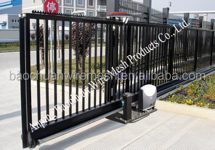 Galvanized beautiful and sliding l home using gates iron and stell low price