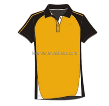 Custom made sublimation bowling sports polo shirts