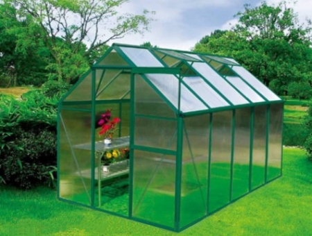 Earth Care Standard Hobby Greenhouse 6' W x 8 L