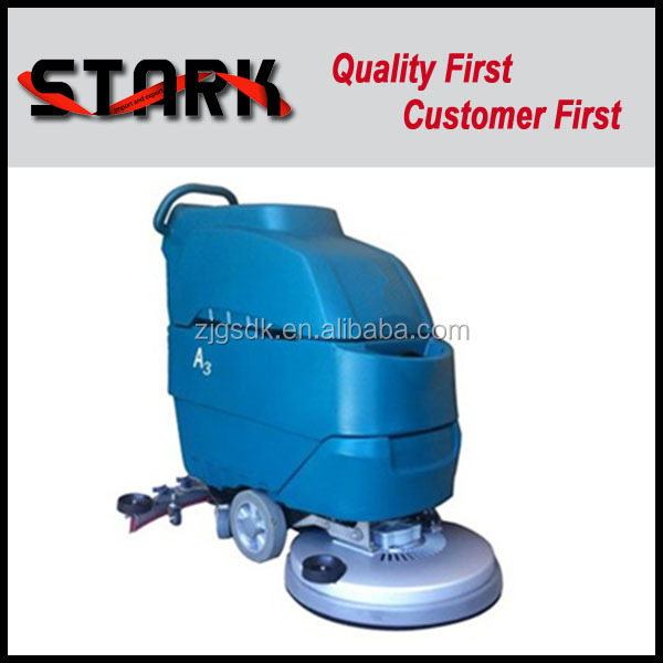 SDK A3 Hand push battery floor scrubber with import motor