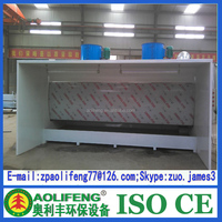 Car Body Paint Water Curtain Spray Painting Booth