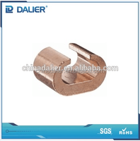 High quality DALIER CCT C Type Copper Cable To rod connecting Clamps