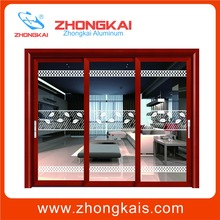 Aluminum Extrusion profile fabric vertical blinds for sliding doors
