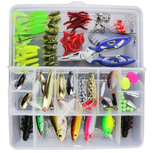 100PCS Mixed fish kit Minnow Wobblers Crankbait Hard Bait Tackle Artificial Fishing Lure Set