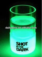 Luminous shot glass for bar ,party