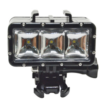 Underwater Diving 30M Waterproof LED Light for GoPros 4/3+/3/2/1 XiaoYi Cam