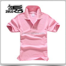 China supplier customized blank polo t-shirt