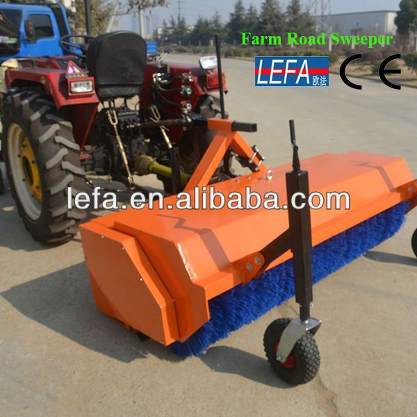 2014 Cheap Farm snow broom sweeper for tractors
