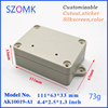 waterproof junction box housing 111*63*33mm plastic case for electronics control box distribution box