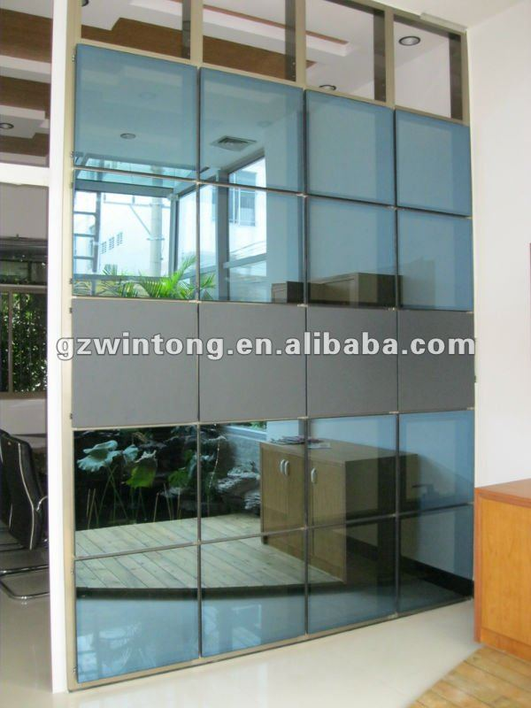 commercial building aluminium&glass curtainer wall