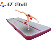china pink air mat air track gymnastics for sale