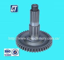 Steel Shaft Gear with Customized Surface Treatment