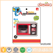 Kitchen set electric plastic microwave oven toy for children