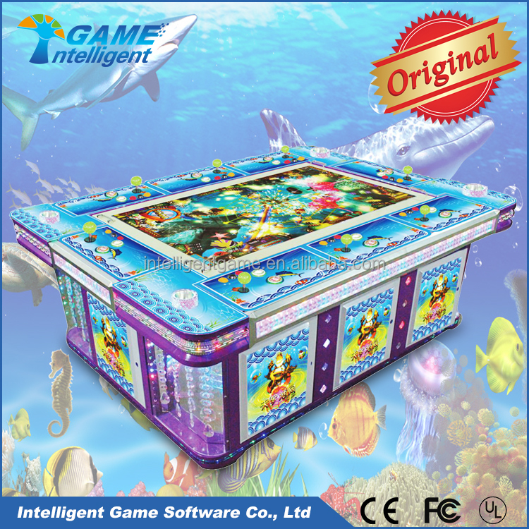 Ocean Legend Fishing hunter game Amusement video machines for sale