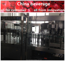 High quality electrical control 10000b/h soft gas drink filling machine/line factory