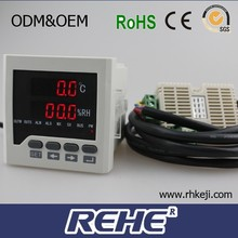 Used for egg incubator ,frame size 48*48mm digital temperature and humidity controller