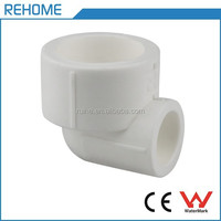 Shanghai Ruihe white reducing elbow PPR pipe fittings