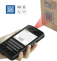 industrial android qr code scanner with 1D/2D barcode reader, NFC, gps ,wifi, 3G