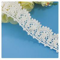 Bailange wholesale embroidery lace trim for wedding dress , guipure lace trimming for curtain