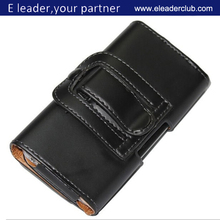 Shenzhen Eleader for Iphone 6 Holster Pouch PU Leather Case with Belt Clip