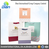 Wholesale Decorative Luxury Recyclable Gift Paper Bag