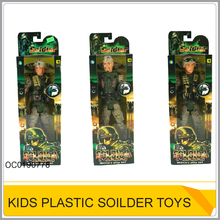 Plastic military character set soldier force toys OC0190778