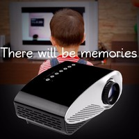 vivibright GP8S best video toy projector,led lamp with HDMI,USB,SD all in one portable home theater Projector