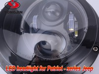 Headlights With LED DRL And Projector For 2011-2015 Jeep Patriot